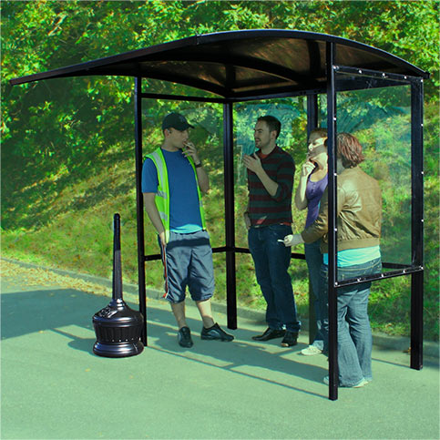 NBB smoking shelter
